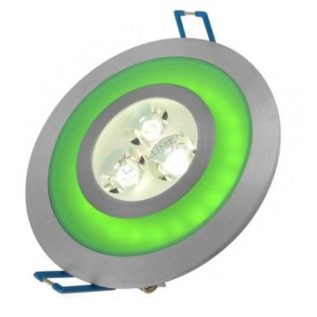 LED-103A/5W CW+GREEN