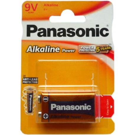 6LR61 9V 1 BL PANASONIC ALK. POWER